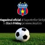 Magazinul Suporterilor Stelişti – Magazin Oficial FC Steaua Bucureşti vine de Black Friday pe Okazii.ro!