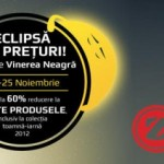 ZorileStore.ro vine cu reduceri de pana la 60% de Black Friday